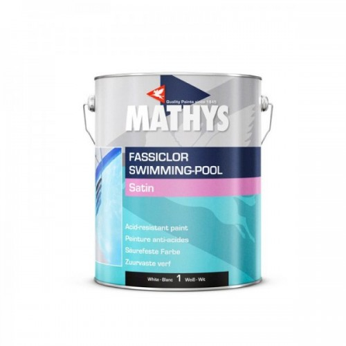 Mathys Zwembadverf Fassiclor Swimming Pool Paint